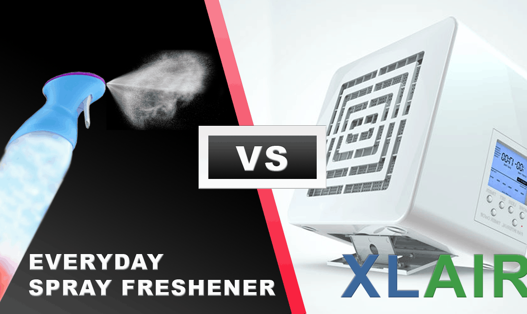 XLAir, the environmentally friendly alternative to spray air freshener!