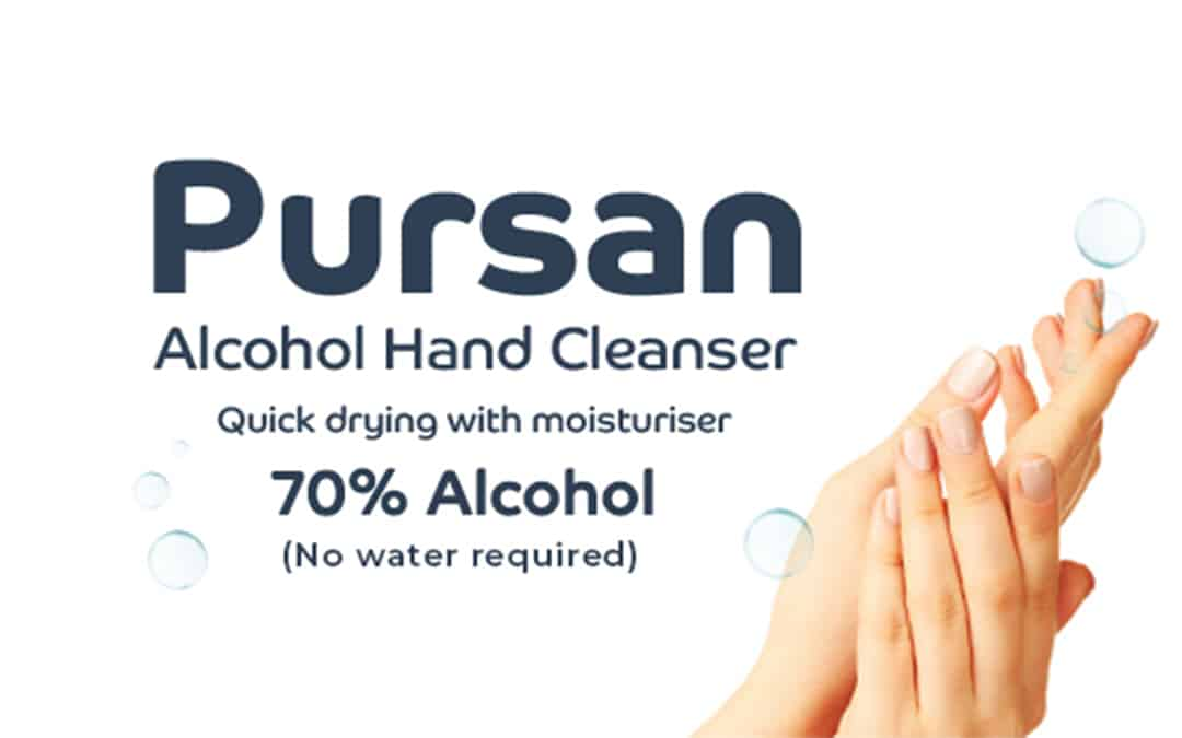 Pursan Alcohol Hand Cleanser ✋✨