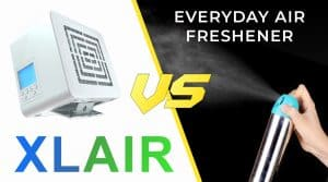 Why you should be using the XLAir to fragrance your indoor space as apposed to an everyday air freshener!